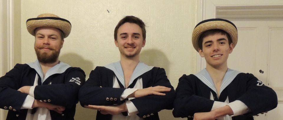 <blockquote><h3>HMS Pinafore - March 2018</h3>HMS Pinafore - coming to the Courtyard 14-17 March 2018.</blockquote>